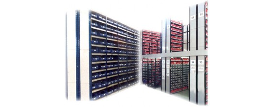 Stormor Systems euro shelving unit